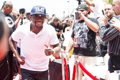 Mayweather running the red carpet.  We can help set-off your event as well
