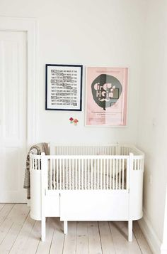 Stylish Convertibles: Cribs to Toddler Beds Cool Baby, Baby Love, Baby Baby, Baby Decor, Kids Decor, Girl Nursery, Nursery Decor, White Nursery, Nursery Nook