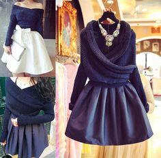 Gorgeous fashion skirts ( two-piece )
