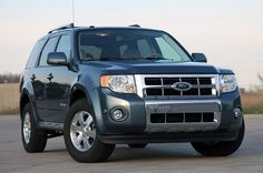 I DO love my Ford Escape. First car I've loved since my beloved Volvos (all four of them). Great gas mileage, comfort, sound, nice ride. Great car!
