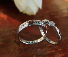 couple matching - Google Search Wedding Couples, Wedding Engagement, Wedding Rings, Engagement Rings, Couple Jewelry, Heart Shaped Diamond, Endless Love, Valentines Day Gifts For Him, Promise Rings