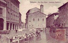 Lavandaie sul Canale Reno #bologna #natalefontanagioielli