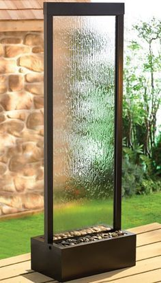 Plexi Vertical Water Feature Google Search With Images