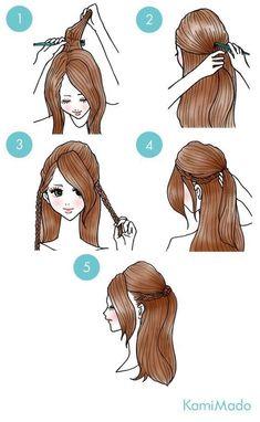 Hair Diy Tutorial Frisuren Half Up Trendy Ideas - Hair Diy Tutorial Frisuren Half Up Trendy Ideas # Frisuren - Trendy Hairstyles, Braided Hairstyles, Wedding Hairstyles, Fall Hairstyles, Simple Everyday Hairstyles, Hairdos, Curly Hair Styles, Updo Curly, Pinterest Hair