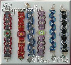 serie bracelets macramé