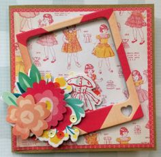 Love You Mother's Day Card featuring Crate Paper Oh Darling Collection Chasing Dreams, Crate Paper, Tic Tac Toe, Tape Crafts, So Little Time, Crates, Challenges, Blog, Scrapbooking