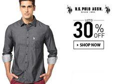 U.S. Polo Assn. - Upto 30% Off