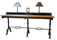 Love this Samuel Yellin bank table from 1924, it's $75,000 Can you loan me a dollar?