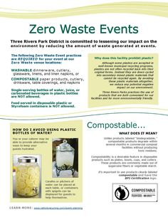 Zero Waste Events at Three Rivers Park District