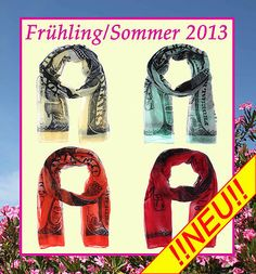 Schal, Tuch Frühling/Sommer 2013 Dollar in 4 aktuellen Farben € 10,90