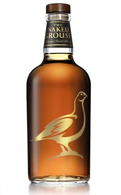 The Naked Grouse. Premium Blended Scotch Whisky. Start pourin' :)