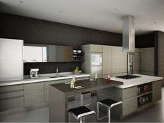 Muebles de cocina relajados
