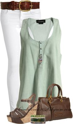 """Simple Set"" by cindycook10 on Polyvore"