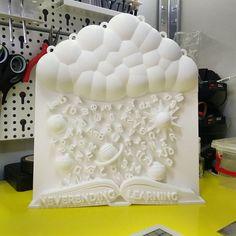 NEVERENDING LEARNING 💎 Our work of art ~ inspired by 3D Spot! Όλες οι πρωτότυπες ιδέες παίρνουν σάρκα και οστά στο 3D Spot της Θεσσαλονίκης. Δείτε όλες τις δημιουργίες μας... www.3dspot.gr #3dprintingtechnology #3dprintart #3dspot #3dprinting #3dprints #skg #3dmodels 3d Models, 3d Prints, Ice Tray