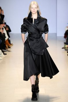 the deconstructed trench. Yang Li Fall 2014 Ready-to-Wear Collection Slideshow on Style.com