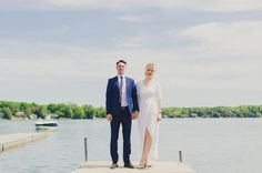 Modren Toronto Backyard Wedding | Green Wedding Shoes - OLOL Heidi Geldhauser
