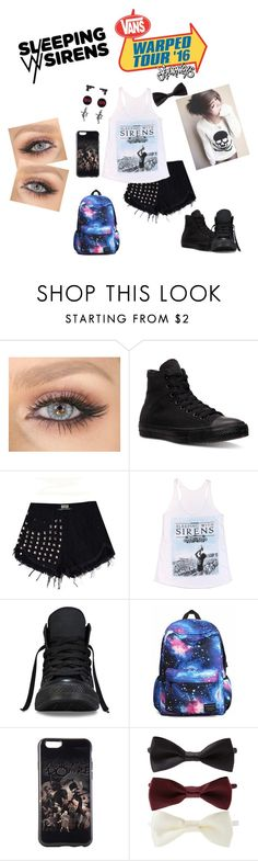 """Vans Warped Tour 2016"" by lizziejadef ❤ liked on Polyvore featuring Converse and Forever 21"
