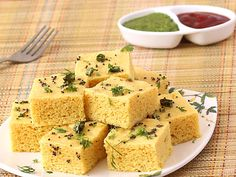 Vati Dal Khaman Dhokla - Spongy and Fluffy  Gram Dal Dhokla. This too is healthy n delicious