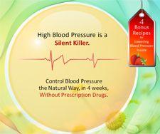 Bring Blood Pressure Down The Natural Way!