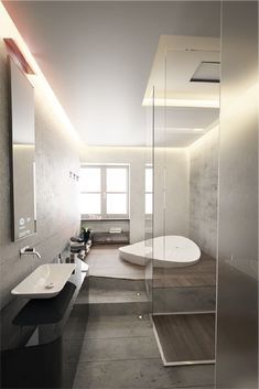At those times you really want to sink into a nice warm bath and soak your skincare woes away. A good bath is great for your circulation, opens and cleans your pores, and is the natural path to healthy skin.✨ Luxury Master Bathrooms, Grey Bathrooms, Small Bathroom, Master Baths, Bathroom Ideas, Bathroom Organization, Bathroom Mirrors, Bathroom Cabinets, Bathroom Storage