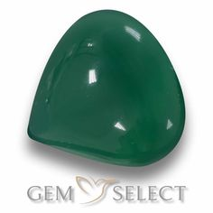 GemSelect features this natural Agate from India. This Green Agate weighs 7.3ct and measures 13 x 12.5mm in size. More Pear Cabochon Agate is available on gemselect.com #birthstones #healing #jewelrystone #loosegemstones #buygems #gemstonelover #naturalgemstone #coloredgemstones #gemstones #gem #gems #gemselect #sale #shopping #gemshopping #naturalagate #agate #greenagate #peargem #peargems #greengem #green Green Gemstones, Loose Gemstones, Natural Gemstones, Agate Gemstone, Gemstone Colors, Buy Gems, Green Agate, Gem S, Shades Of Green