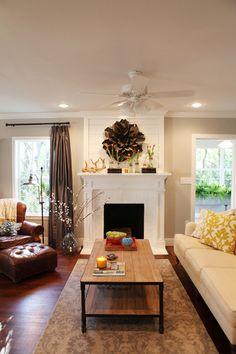 HGTV's Fixer Upper: Living Room - Magnolia Homes