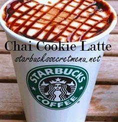 Starbucks Secret Menu: Chai Cookie Latte | Starbucks Secret Menu