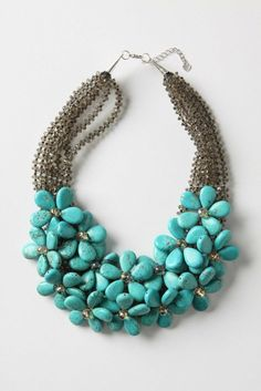 How many ways can I say I love this?! Turquoise and flowers?! Two of my favorite…