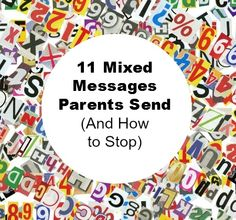 Recently, I was struck by number of mixed messages parents send to their kids.  I believe that most of these are unintentional, and would probably go unnoticed unless someone pointed them out (in a blog post, maybe?).  However, some of these are common sources of tension between parents and children, I hear about it from …