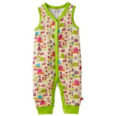 Zutano Baby-girls Infant Garden Snail Sleeveless Romper $28.00