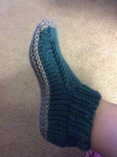 Best 12 Ravelry: Better Dorm Boots Slippers pattern by Kris Basta – Kriskrafter, LLC Knit Slippers Free Pattern, Crochet Mittens Pattern, Knitted Slippers, Knit Crochet, Knitting Socks, Knitting Stitches, Knit Socks, Knitting Needles, Sewing Patterns Free