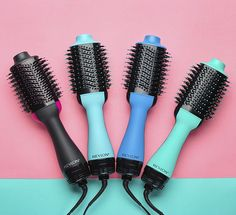 The Revlon Hair Dryer Brush Gives Me a Professional-Looking Blowout Every Time