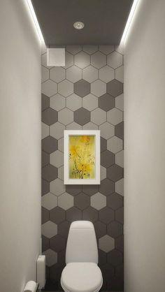 Small toilet 4 Pleasing Simple Ideas: Bathroom Remodel Spa Benjamin Moore bathroom remodel before an Small Space Bathroom, Modern Bathroom, Small Spaces, Narrow Bathroom, Very Small Bathroom, Bathroom Grey, Hall Bathroom, Inexpensive Bathroom Remodel, Shower Remodel