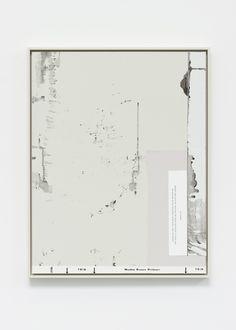 Matthew Brannon Aperitif, 2012 linen on canvas collage 57.15 x 47 cm