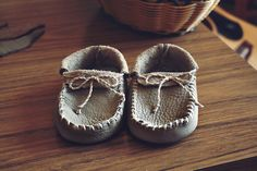 Baby Mocs - so cute! (inspiration)