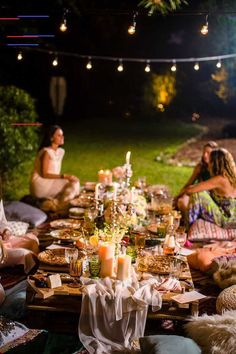 Boho Midsummer Nights Soiree | Kara's Party Ideas Boho Midsummer Nights Soiree on Kara's Party Ideas | KarasPartyIdeas.com (4)