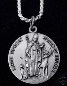 saint hubert patron of hunters 925 silver charm pendant Real Sterling silver 925 pendant Charm jewelryLike this item find it at https://www.etsy.com/shop/princeofdiamonds