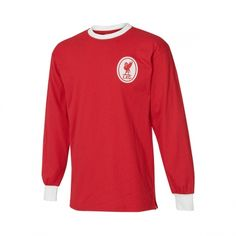 retro 1964 liverpool home long sleeve jersey