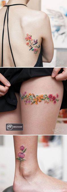 Hinhxamdoc.net - Chia sẻ những mẫu hình xăm hoa đẹp và độc đáo cho các cô nàng điệu đà...