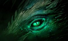 View an image titled 'Dragon Eye Art' in our Guild Wars 2 art gallery featuring official character designs, concept art, and promo pictures. Fantasy, Celtic Dragon, Character Art, Creature Artwork, Fantasy Art, Green Dragon, Eyes Wallpaper, Dragon Eye, Dragon