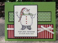 CCREW0715DF snowman sketch