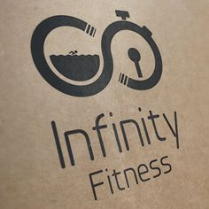 Infinity Fitness Logo Concept by Lee Potter, via Behance