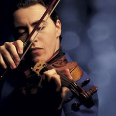 Maxim Vengerov superb Russian violist whose interpretation of the Max Bruch and Tchaikovsky violin concertos are heavenly.