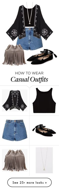 """""""Casual beach day"""" by sweet-humbug on Polyvore featuring Glamorous"""