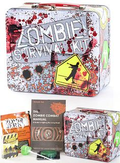 Killer Zombie Survival Kit -Unless it includes a shotgun it's not a real zombie survival kit.