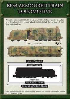 german armoured train models - Google Search