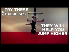 INCREASE VERTICAL JUMP TODAY With These 5 Exercises! - YouTube