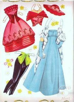 Sandra Dee Paper Dolls 1959 - 3
