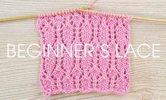 Beginner's Lace - part 1 - part of the Something for the Weekend Series from Deramores - free tutorial