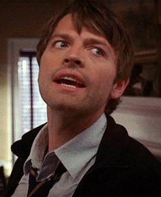 repimg:  Misha Collins #26   Oh, My God.